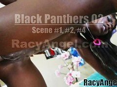 Black Panthers Compilation Ana Foxxx, Layton Benton, Aryana Adin, Lexington Steele