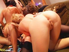Fascinating college sex party would make u hot